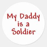 Mi papá es soldado etiquetas
