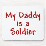 Mi papá es soldado tapetes de ratones