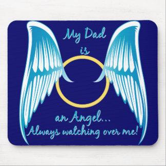 Mi papá es un ángel alfombrillas de raton