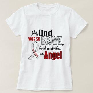 Mi papá es un cáncer de pulmón del ángel playera