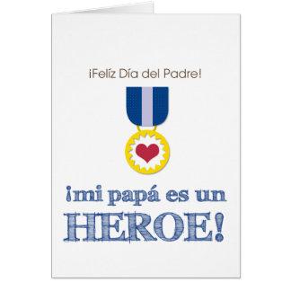 Mi Papá es un Héroe! Card