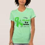 Mi papá es un superviviente del linfoma camiseta