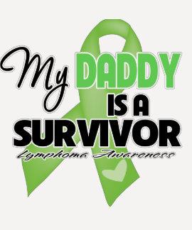 Mi papá es un superviviente - linfoma remera