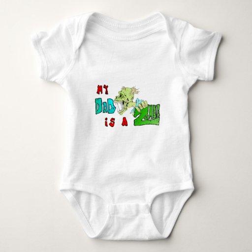 Mi PAPÁ es un ZOMBI Body Para Bebé
