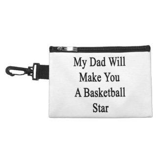 Mi papá le hará a una estrella del baloncesto