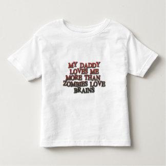 Mi papá me ama más que cerebros del amor de los camisas
