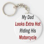 Mi papá mira el montar a caballo caliente adiciona llavero personalizado