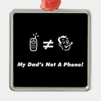 Mi papá no es un teléfono adorno para reyes