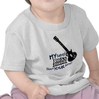 ¡Mi papá OSCILA MÁS DIFÍCILMENTE que su papá! Camiseta