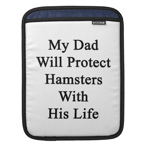 Mi papá protegerá hámsteres con su vida manga de iPad