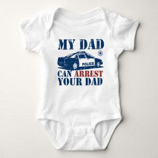 Mi papá puede arrestar a su papá body para bebé
