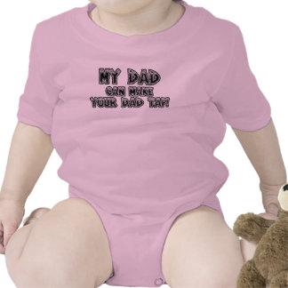 Mi papá puede hacer que su papá golpea ligeramente traje de bebé