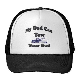 Mi papá puede remolcar a su papá gorro de camionero