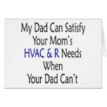 Mi papá puede satisfacer la HVAC de su mamá y R ne Tarjetón