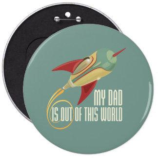 Mi papá Rocket Pin