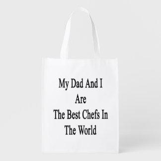 Mi papá y yo somos los mejores cocineros del mundo bolsa de la compra