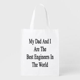 Mi papá y yo somos los mejores ingenieros del bolsa para la compra
