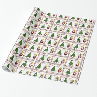 Mi papel de embalaje caído bolas papel de regalo