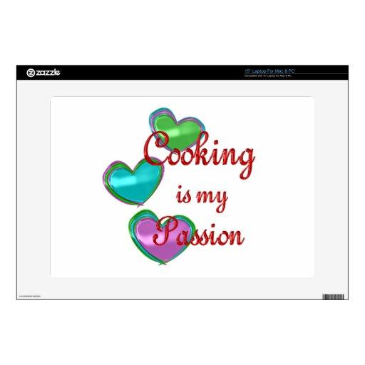 Mi pasión de cocinar portátil skin