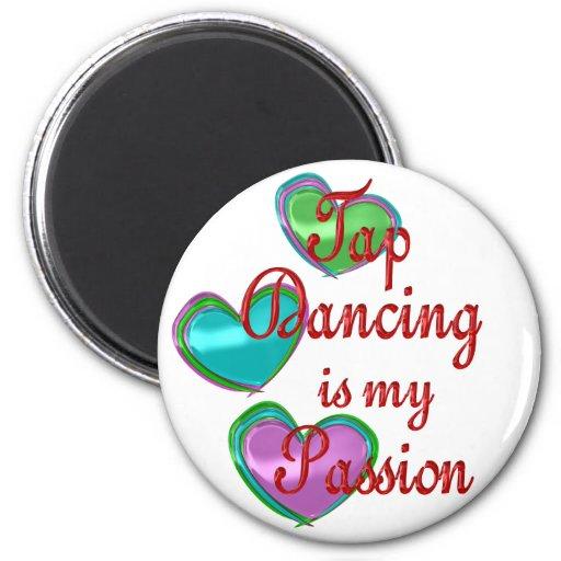 Mi pasión del baile de golpecito imán para frigorifico
