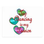 Mi pasión del baile de golpecito postal