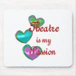 Mi pasión del teatro alfombrillas de raton