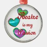Mi pasión del teatro ornamento para reyes magos