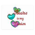 Mi pasión del teatro postal