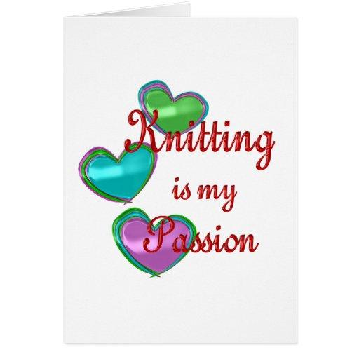Mi pasión que hace punto tarjetón