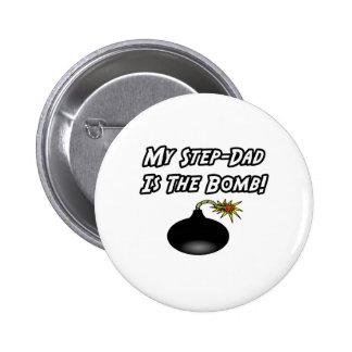 Mi Paso-Papá es la bomba Pin Redondo De 2 Pulgadas