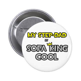 Mi Paso-Papá es rey Cool del sofá Pin Redondo 5 Cm