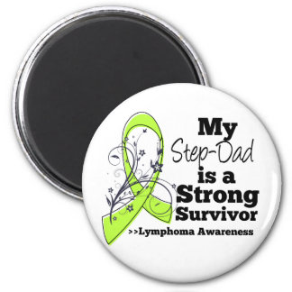 Mi Paso-Papá es un superviviente fuerte del Imán Redondo 5 Cm