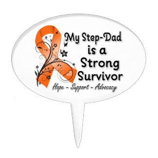 Mi Paso-Papá es una cinta fuerte del naranja del s Decoraciones Para Tartas