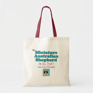 ¡Mi pastor australiano miniatura es todo el eso!