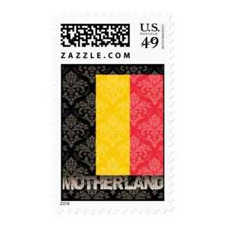 Mi patria Bélgica Sellos Postales