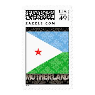 Mi patria Djibouti Sello