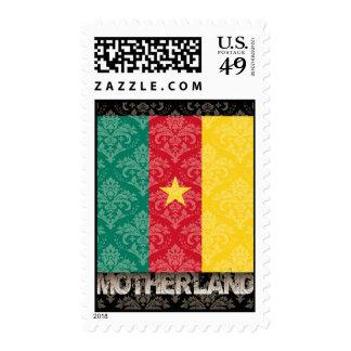 Mi patria el Camerún Sellos
