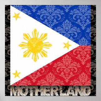 Mi patria Filipinas Póster