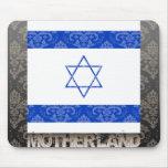 Mi patria Israel Alfombrillas De Raton