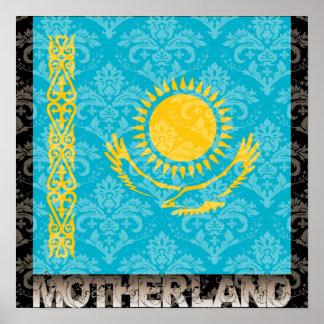 Mi patria Kazajistán Póster