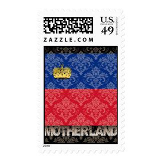 Mi patria Liechtenstein Sellos