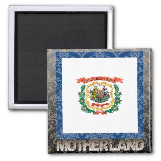 Mi patria Virginia Occidental Imán Cuadrado