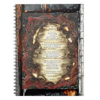 Mi pecado más grande libro de apuntes con espiral