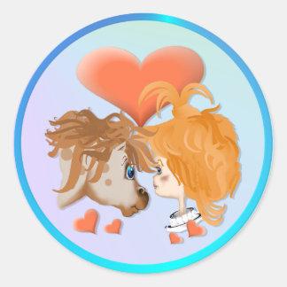 Mi pegatina del amor de PonyZ