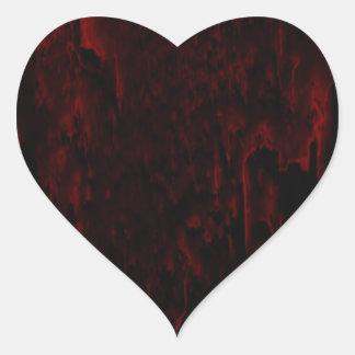 Mi pegatina del corazón sangrante