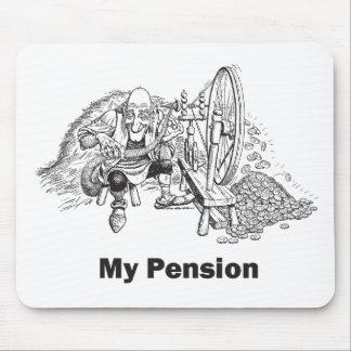 Mi pensión alfombrilla de ratón