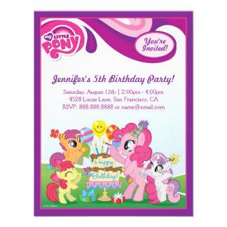 Mi pequeña fiesta de cumpleaños del potro anuncios