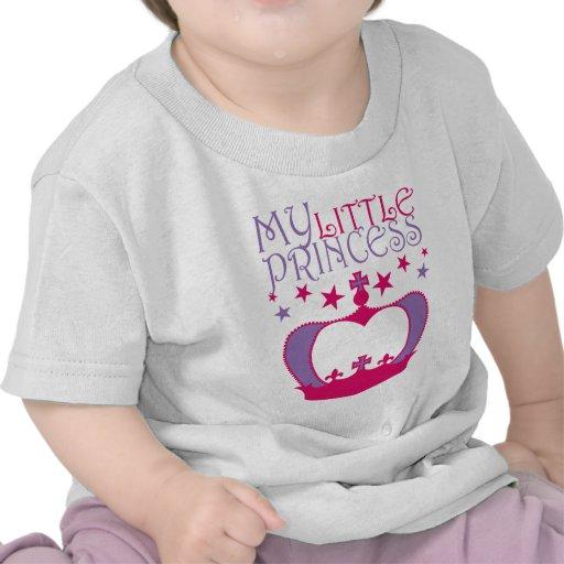 Mi pequeña princesa camisetas