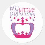 Mi pequeña princesa etiqueta