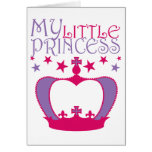 Mi pequeña princesa felicitación